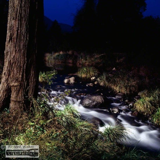 Cougal Park, northern New South Wales, long exposure photography, light painting photography, blurred water, blurred rapids,