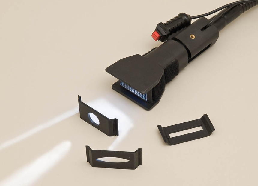 Hosemaster Light Painting System, head and masks