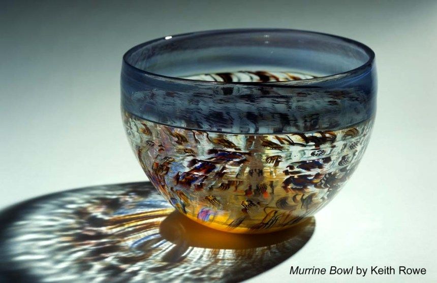 Keith Rowe-Murrine Bowl
