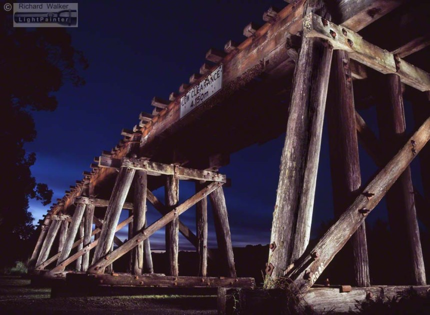 Eltham Trestle Bridge