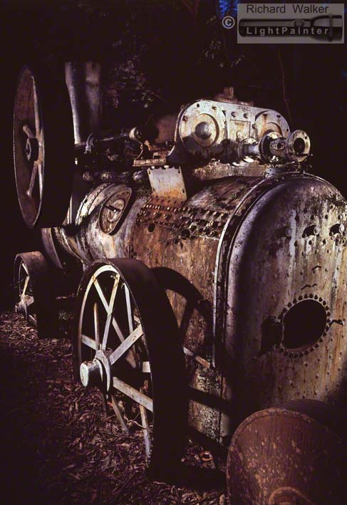 Stationary Engine, Tapin Tops National Park