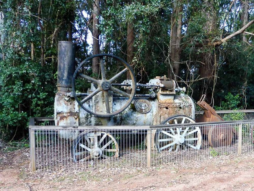 Traction Engine -- Tapin Tops NP